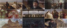 El Viento y el León, John Milius, 1975. Fantásticos Sean Connery, el caudillo bereber El Raisulí y Candice Bergen la dama norteamericana Mrs. Eden Pedecaris.n el último plano de la película hay un atardecer y la silueta de dos jinetes: El Raisuli y su lugarteniente.      -Gran Raisuli, lo hemos perdido todo. Todo se lo ha llevado el viento tal como dijiste.      -Qué importa, ¿No hay en tu vida una sola cosa por la que valga la pena perderlo todo?