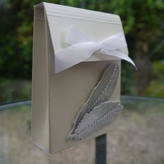 Pretty Gift Box, Fine Feathers by Waltzingmouse Stamps