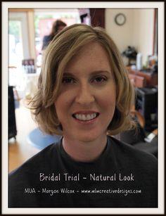 Bridal Makeup! Makeup, Natural, Motives, Brides www.mlwcreativedesigns.com