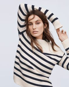 Stripes are always a good idea. View autumn womenswear arrivals at http://www.countryroad.com.au/shop/woman