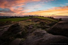 https://flic.kr/p/LAdSvV | Another Chevin Sunset | Back to Otley…