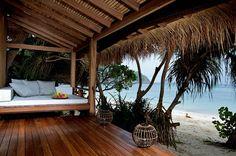 beach bungalow, Haad Tien