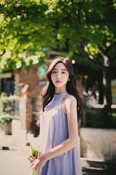 Korean Fashion Dress, Asian Fashion, Ulzzang Korean Girl, Uzzlang Girl, Fashion Essentials, How To Look Classy, Retro Dress, Beautiful Asian Girls, Girl Outfits