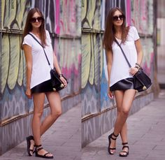 Strappy Sandals (by Nika H) http://lookbook.nu/look/3763127-Strappy-Sandals
