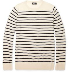 Breton Stripe Wool Sweater by APC