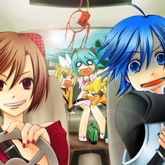 Vocaloid, don't let Meiko drive