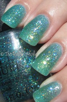 OPI Shimmer Into Summer Ulta Exclusive Summer Collection Swatches! OPI Sparkle Teal Sunrise