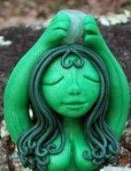 Beautiful handmade clay creations combining an eclectic blend of fantasy, whimsical, mystical & Spiritual, but always art from the heart.