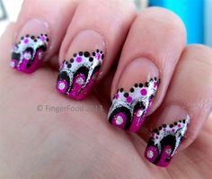 Abstract by fingerfood - Nail Art Gallery nailartgallery.nailsmag.com by Nails Magazine www.nailsmag.com #nailart