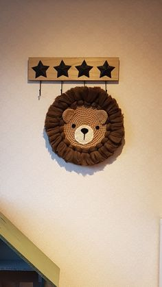 Wall Hanging Crafts, String Crafts, Yarn Crafts, Diy And Crafts, Art Corde, Diy Crochet, Crochet Toys, Sweet Turtles, Baby Accessoires