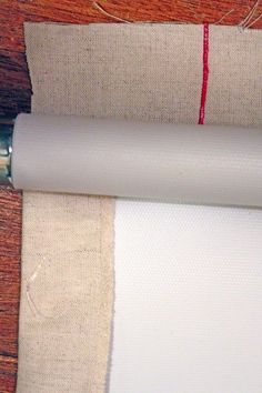 DIY custom roller shades: doing this in a couple of weeks for our bedroom, need to find the perfect fabric! Diy Window Shades, Diy Roman Shades, How To Make Curtains, Diy Curtains, Blackout Curtains, Roller Shades, Roller Blinds, Cortinas Rollers, Window Coverings