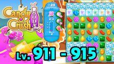 Candy Crush Soda Saga - Level 911 - 915