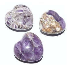 Amethyst Herz ca. 3 cm - A - E - Cleopatra's Duft-Oase