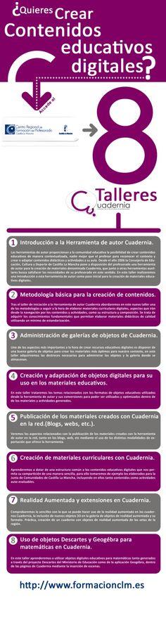 Talleres de Cuadernia para el profesorado de Castilla La Mancha.