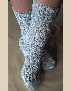 Wishbone Lace Sock Kit - Click Image to Close