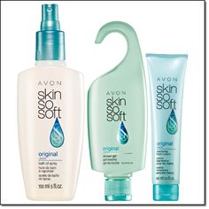 Avon Campaigns 14 & 15 '16 SKIN SO SOFT ORIGINAL   With jojoba oil.  • Bath Oil Spray   5 fl. oz. Price: $7.50  • Shower Gel   5 fl. oz. Price: $6.00  • Replenishing Hand Cream   3.4 fl. oz. Price: $4.50   Item#: 970-244  ALL 3 FOR $10.00  Skin So Soft Original Bath Oil Spray, Shower Gel, Replenishing Hand Cream  an $18.00 value!   While supplies last.  In case of unforeseen demand, product assortment may vary slightly.