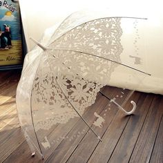 Romantic Transparent Umbrella For Women