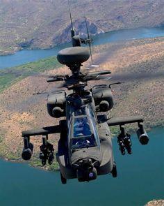 Aviões e etc by Daniel Alho / AH-64 Apache Helicopter