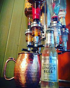Kentucky mule @makersmark #bourbon @fevertree_UK #gingerbeer #lime #alcohol #summer #drinks