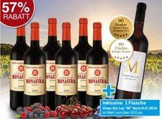 Ebrosia: Sieben Flaschen Rotwein (mit Parker-Wein) für 29,99 Euro frei Haus https://www.discountfan.de/artikel/essen_und_trinken/ebrosia-sieben-flaschen-rotwein-mit-parker-wein-fuer-29-99-euro-frei-haus.php Sieben Weine für weniger als 30 Euro frei Haus – darunter einer mit 90 Parker-Punkten: Das neue Rotweinpaket von Ebrosia ist ab sofort mittels Gutschein zum Schnäppchenpreis zu haben. Ebrosia: Sieben Flaschen Rotwein (mit Parker-Wein) für 29,99 Euro frei Haus (