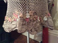 Handmade by Garland of Yarns. My Irish Crochet Tunic...just finished.
