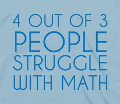 4 out of 3 people stuggle with math - humor funny mathematics number geeky nerdy tshirt t-shirt tee shirt