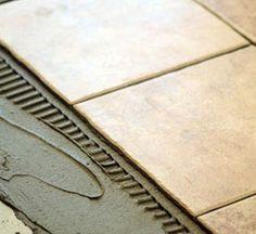 Uw natuursteen of tegellijm verlijmen | Publicaties | Ceramico