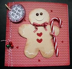 Cricut Gingerbread Man (paperdolls cartridge)