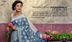 Spread over an attractive corner of the Deccan plateau, Pochampally is a well-known weaving centre in South India.