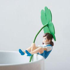 Poupée FUCHIKO pour mug modèle 1 japon