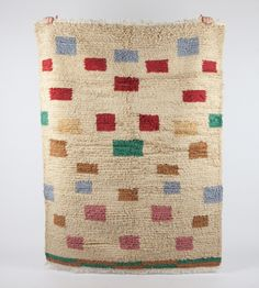 Wool Area Rug - Makes Me Happy