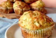 Muffins Légers au Thon et aux Courgettes WW