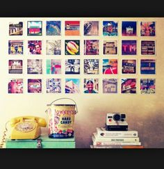Add lots of pics to your room to spice it up !