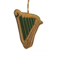 A beautiful representation of the traditional Irish Harp. This intricate embroidery on this decoration will make it a highlight of your Christmas collection. Irish Christmas, Green Christmas, Country Christmas, St Patrick's Day Decorations, Christmas Tree Decorations, Christmas Tree Ornaments, Embroidered Christmas Ornaments, Irish Celebration, Irish Celtic