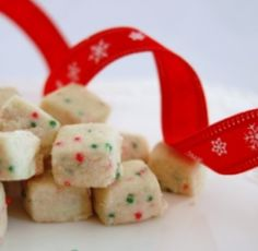 Elfin Shortbread Bites- These melt in your mouth and are quite addictive.
