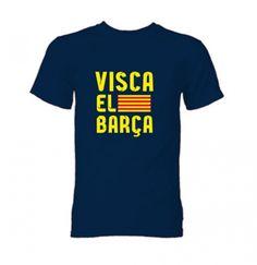 #T-shirt barcellona visca el barca  ad Euro 24.35 in #Sport calcio t shirt #Moda