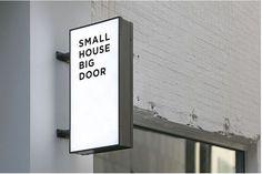 ideas exterior signage lighting interior design for 2019 Store Signage, Retail Signage, Wayfinding Signage, Signage Design, Cafe Design, Store Design, Logo Design, Signage Light, Café Bistro