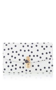 Dolce & Gabbana Polka-Dot Clutch