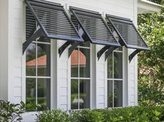 Exterior Shutters For Windows - Homes With Bahama Shutters . Bermuda Shutters, Bahama Shutters, Style At Home, Window Shutters Exterior, Outdoor Shutters, Metal Window Awnings, Outside Window Shutters, Outdoor Window Awnings, Cottage Shutters