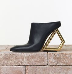 The mule certainly divides opinion. It has wained and ebbed in and out of fashion throughout history, dating back to the reign of Louis XV to when they were a sign of status and luxury. Celine, Mules Shoes, Heeled Mules, Lanvin, Balenciaga, Anthony Vaccarello, Gareth Pugh, Latest Shoes, Shoe Collection
