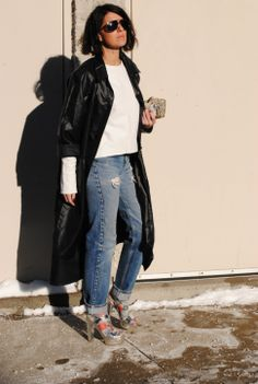 Oversized trench Piece Of Clothing, Unique Vintage, Trench, Bomber Jacket, Pairs, Coats, How To Wear, Jackets, Shopping