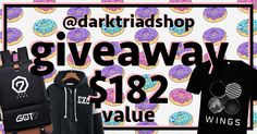 Win this K-pop gift package valued at $182 from Dark Triad  http://upvir.al/ref/w4954323