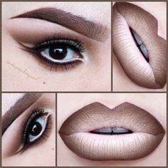 50 Sexy and Perfect Ombre Lips Makeup ideas 2015