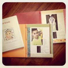 Back to school yearbook printables from Becky Higgins Photo Projects, Craft Projects, Craft Ideas, First Day Of School, Back To School, School Scrapbook, School Memories, School Daze, Creative Memories