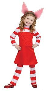 Olivia Piglet Toddler Costume - 328276 | Via Halloween Club #oliviapig #halloweencostumes #kidscostumes #girlscostumes #toddlercostumes