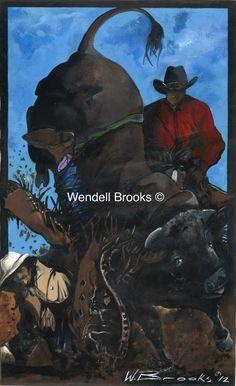 """Black Art - """"Bull Rider"""""""