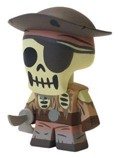 Pirates of the Caribbean Skeleton Pirate, Park Starz Vinylmation
