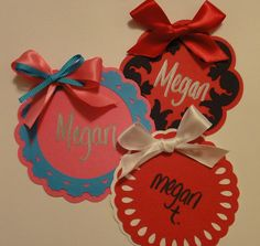 CUSTOM Sorority Recruitment Rush Name Tags by meegin333 on Etsy, $0.60