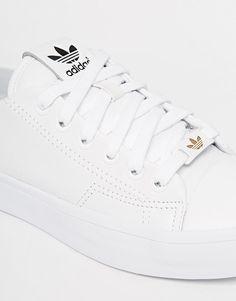 big sale e9be7 07e64 Adidas  adidas Originals Honey 2.0 White Trainers at ASOS Adidas Schuhe  Damen Weiß, Nike