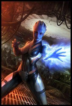 Liara, Mass Effect